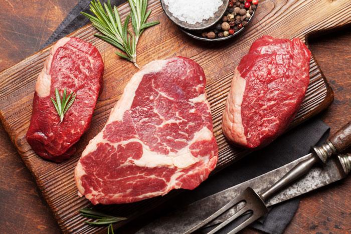 fresh cut to order steak